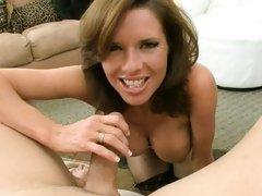 Veronica Avluv hot milf having one cock off her wrist