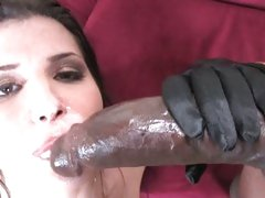 Rebecca Linares enjoy getting a warm face cream