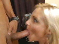 Phoenix Marie suck the cock of her boyfriend's son