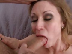 Monique Alexander lovely chick sucking a hard cock