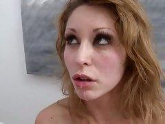 Monique Alexander hottie babe geting a hard slam