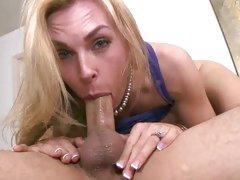 Tanya Tate hottie blonde milf get punked in the head