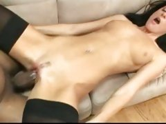 India Summers gets a huge black cock slammed in hole