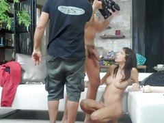 Rocco Siffredi spewed his cum to a horny babe