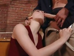 Lily Luvs blonde like to do a hard hum-job