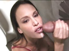 Mckenzie Lee like the semen of cock in the hole