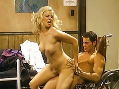 Hot slut behind the scenes
