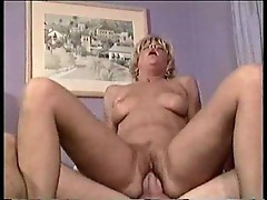 Blond experienced wife fucking