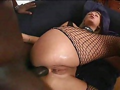 Black dick in oiled asses