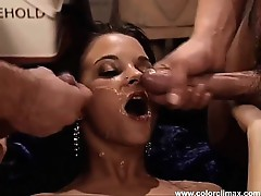 Her pussy is made for two dicks