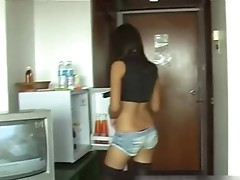 Freaky asian hot sex audition in the hotel