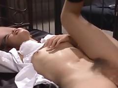 Spicy school girl Rin Momoka hardcore