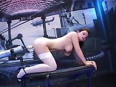 Nasty schoolgal in a free sex tube xxx video