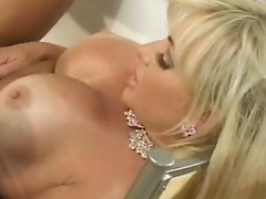 Busty Lesbians are licking and jerking