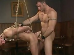 Bartender stRings Horny hunk inside a bar and turn himinto the xxx villein