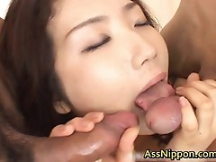 Hatsumi Kudo Asian Sweetie Who Enjoys