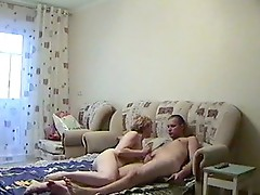 Amateur porno beside the yummy blonde lass