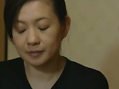 Japanese mature lady is inside for some hot