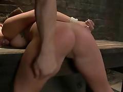 Big tits, submissive milf