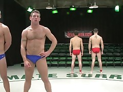Spencer Reed and DJ vs Patrick Rouge and Dean Tucker The Live Audience Match