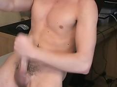 Timmy Slater jerking his british dick