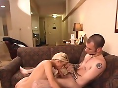 2 Blonde wives inside swinging groupsex