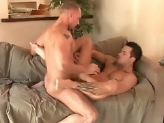 Married man having hardcore gay fuck