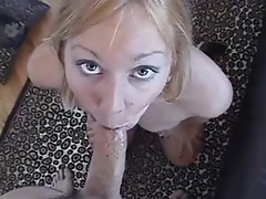 Amazing deethroat clip performed by concupiscent Julie Knight