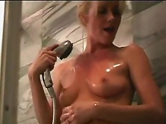 Beverly Lynne Solo shower masturbation