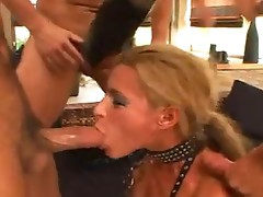 Cute party girls Lanny and Kimberly got drilled bum