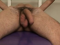 Luciano masturbating his nice stiff gay ram rod