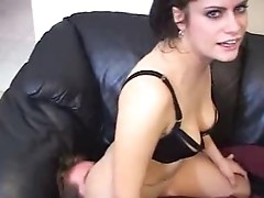 Licked my ass