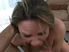 Aged slut on her knees