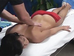 Bailey allured and made love by her massage therapist onto hidden camera