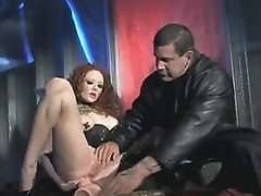 Red headed Babe Audrey Hollander likes the Marseive wiener till thowdys Gal choKayes