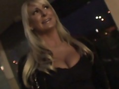 Blonde young chick yells while she fucks pt 1