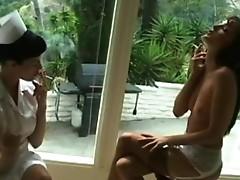 Smokers masturbate