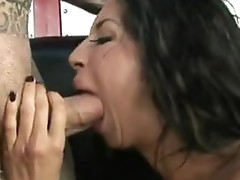 Horny stripped Kayla carrera isn't able to live without the large pole sliDing inside her labia from backside