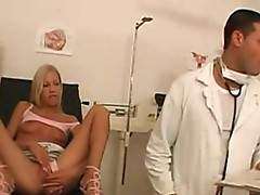 Clinic fucked Blonde