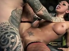 Alluring Rachel Starr has the hard nail onto her grumble she is able to not wait to get cummed