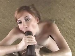 Allison Wyte Enjoy with creamy cum on face