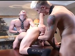 Power Meeting Threesome