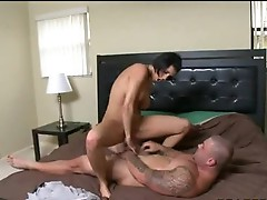 Impure in nature's garb Dylan Ryder having fucked hard by her boyfriend from backside