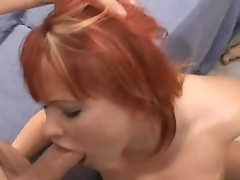 Katja Kassin constricted snatch split with schlong and throat fuck
