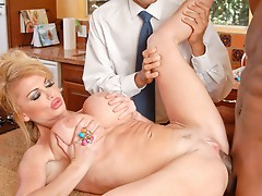 Taylor invites her New ally over, the nice hung stripped Model
