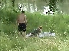 A riverside spier has caught fuck-mates