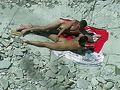 Lovers inside seaside xxx and spycam video