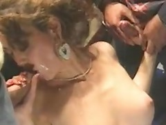 Ginger Blaze - Busty undress dancer tempted to fuck