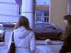 Sexy pickup pussy fucks inside public