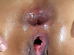 Asia wide Anal gapes
